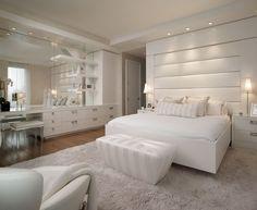 Luxus schlafzimmer weiß  Die besten 25+ Kopfteil dekor Ideen auf Pinterest, die dir ...