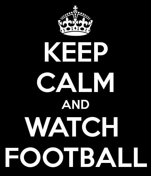 keep calm and watch chargers football