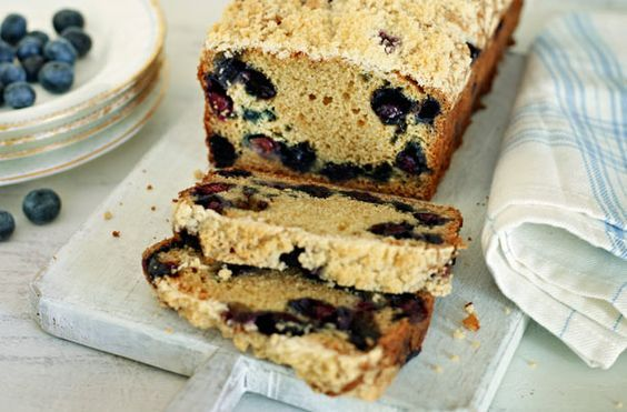Jo Wheatley's blueberry muffin loaf recipe - goodtoknow