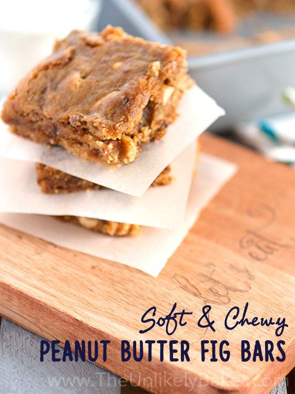 If you like peanut butter and jelly sandwiches, you would love these peanut butter fig bars. Soft, chewy and bursting with flavours from childhood.