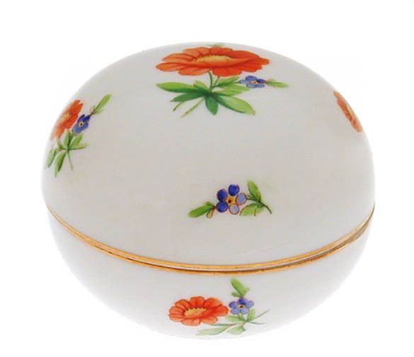 Herend Porcelain - Covered Dish, Bonbon, d. 1947, Hungary, Hungarian #Herend