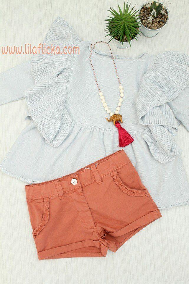 Comprar pantalón corto de niña en color caldera de marca Boometi en ...