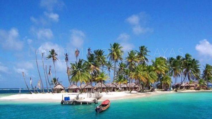 10 Mejores Playas en Panamá - 10 Best Beaches at Panama