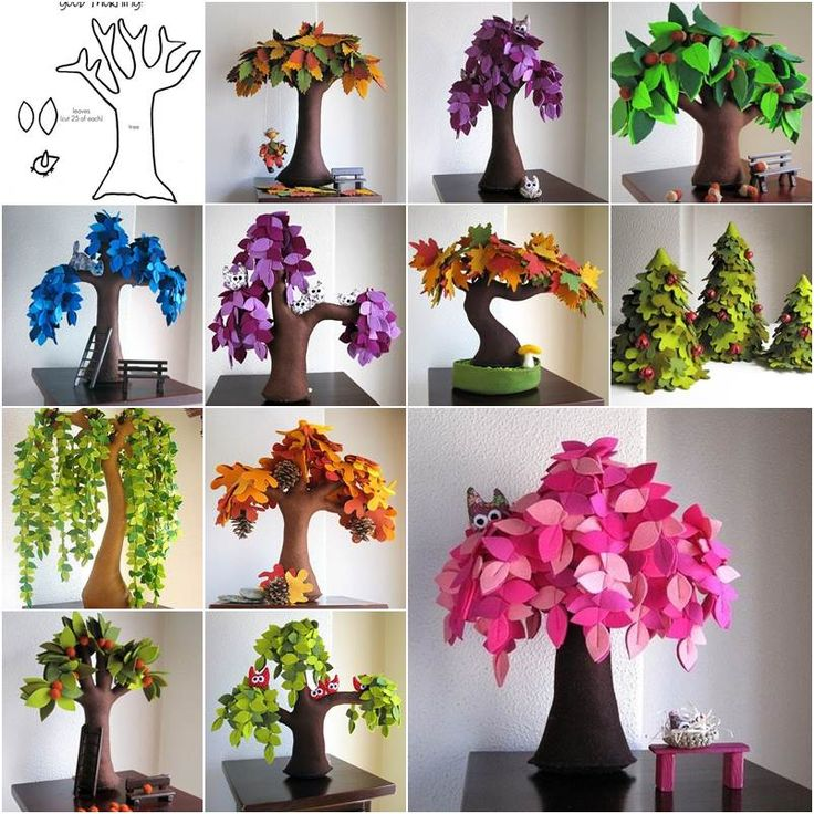 """<input class=""""jpibfi"""" type=""""hidden"""" >Here are some creative handmade felt trees for you to enjoy. They are from the Etsy shop Intres. I am always amazed by the creative minds and skillful hands to make something ordinary (such as felt) become extraordinary. These felt…"""