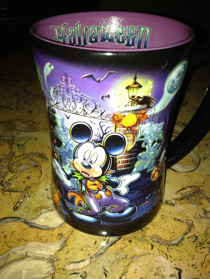 My Halloween Disney mug! Love it!