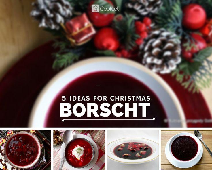 5 ideas for #Christmas #borscht