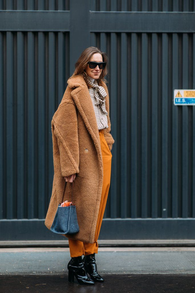 "These Milan Fashion Week Street Style Moments Will Have You Saying, ""What Runway?"" Image Source: Style Du Monde"