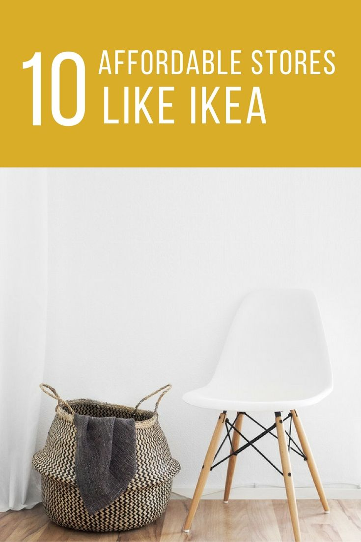 10 Places to Buy Affordable Furniture (That Aren't IKEA)