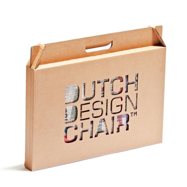 The Dutch Design Chair is also a stool and coffee table. Its unique design and innovative construction mean the possibilities of this environmentally-friendly marvel are endless.