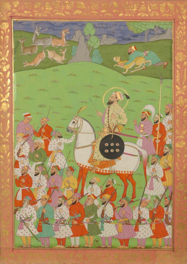 Emperor Shah Alam I (Bahadur Shah I), son of Aurangzeb, Mughal Empire