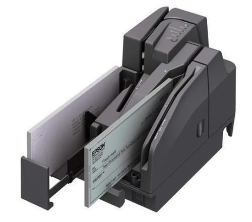 SALE Epson A41A268001 TM-S2000 110DPM 2 Pockets USB Hub MSR Dark Gray