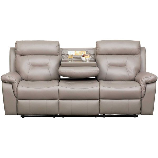 Gray Leather Reclining Sofa Theconcinnitygroup Com In 2020 Grey Leather Reclining Sofa Reclining Sofa Leather Reclining Sofa