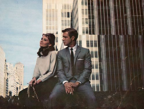 Breakfast At Tiffany's Audrey Hepburn and George Peppard