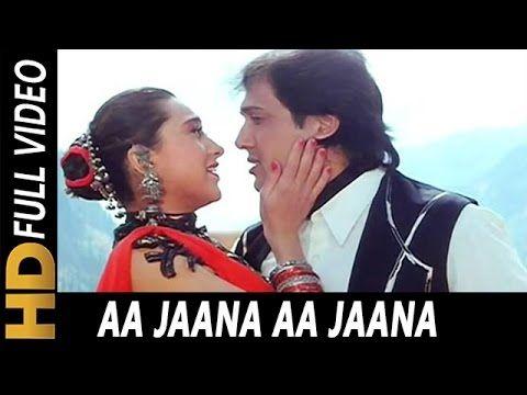 Aa Jaana Aa Jaana | Kumar Sanu, Alka Yagnik | Coolie No. 1 1995 Songs | ...