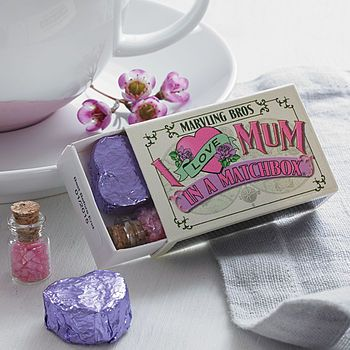 Tea For Mum In A Matchbox
