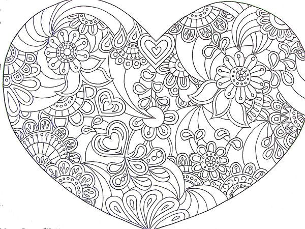 Psychedelic Peace Coloring Pages Doodles & colouring pages on