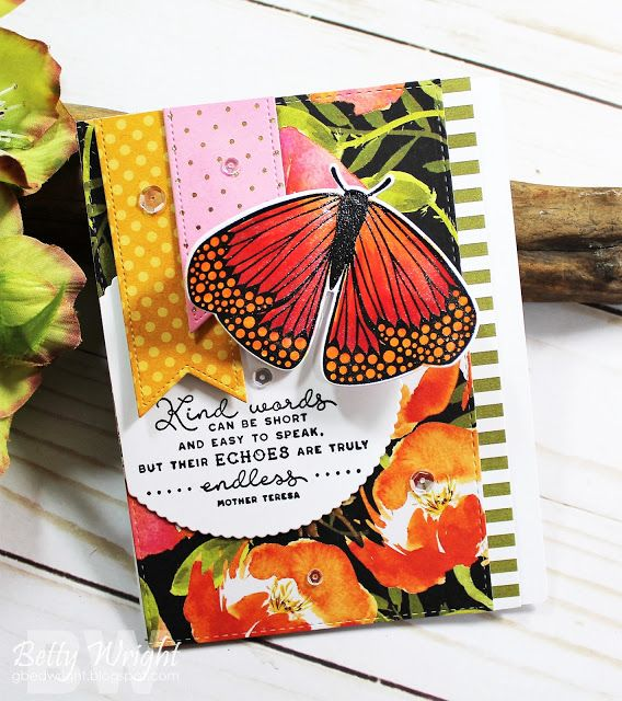 Kind Words! 2 cards 1 post! | The Things I Do With Paper | Cards