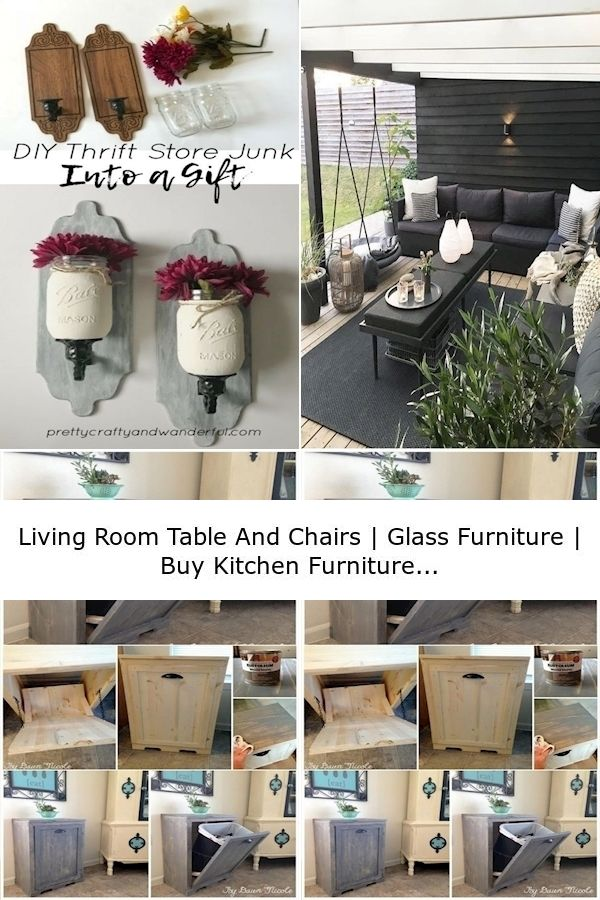 Living Room Table And Chairs   Glass Furniture   Buy Kitchen