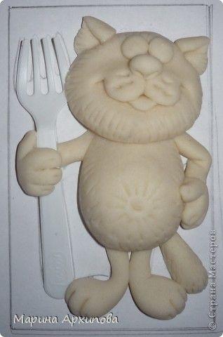 Мастер-класс Лепка Котик-коток Тесто соленое фото 13