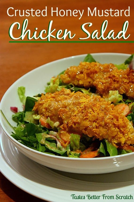 I LOVE honey mustard sauce on basically anything, and this chicken salad is delicious!  You use the sauce in the coating of the chicken, and as a dressing, so it's definitely my kind of meal . This is the perfect meal for a light weeknight dinner. It takes under 30 minutes to make and it... Read More »