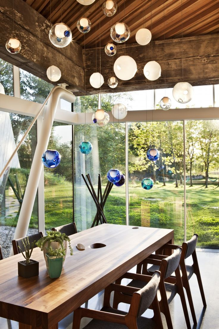 12 best bocci lighting images on pinterest architecture dining i just love these glass balls might look neat as a room divider dining room chandeliersball lightsglass