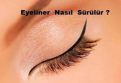 Eyeliner Sürmenin Yolları    Biz kadınlar eyeliner sürmenin çeşitli yollarını ararken sizlere b...