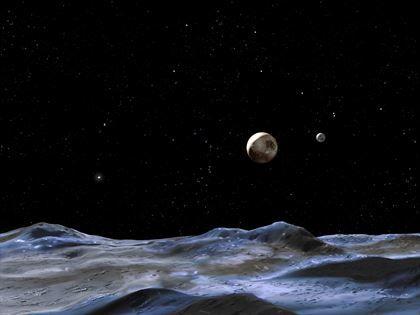 Grietas en la luna gigante de Plutón podrían indicar un océano subterráneo