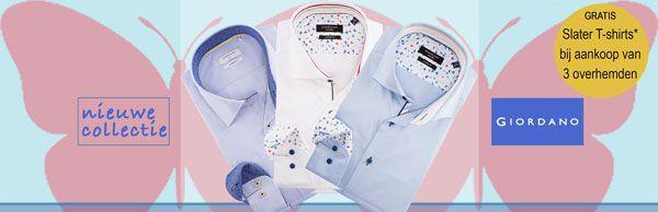 Nú leverbaar: de nieuwe collectie Italiaanse #overhemden van #Giordano Tailored. Ga naar https://www.shirtsupplier.nl/nl/nieuw-merk/giordano-tailored-/modern-fit
