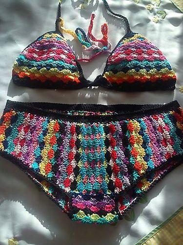 Ravelry: fashionmartina's Crochet bikini Pin Up