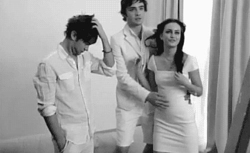How bad of me would it be to watch the entire season 1 of gossip girl over? because the whole seasons just like chuck and blair and some nate on the side…. and i miss when Nate Archibald was our worst...