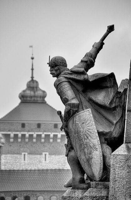 "welkinlions: "" Battle of Grunwald monument in Kraków, Poland """