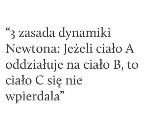 Ahhh, physics...