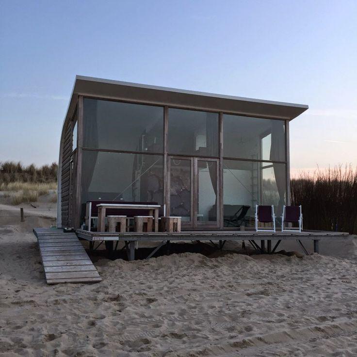 Schlafen am Meer, Strandcamping Groede, Strandhaus Zeeland