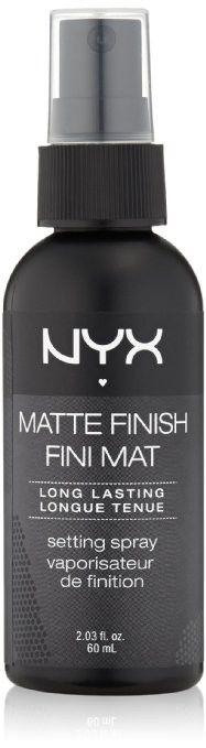 NYX Cosmetics Make Up Setting Spray Matte Finish/Long Lasting MSS01