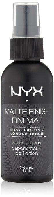 NYX Cosmetics Make Up Setting Spray Matte Finish/Long Lasting MSS01