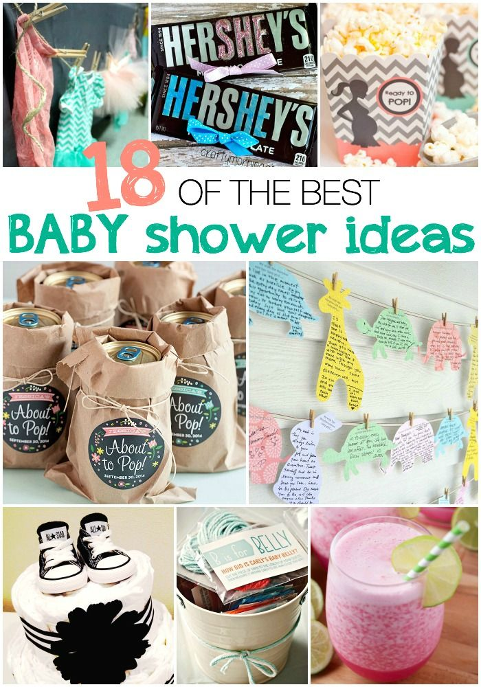 18 adorably cute baby shower ideas