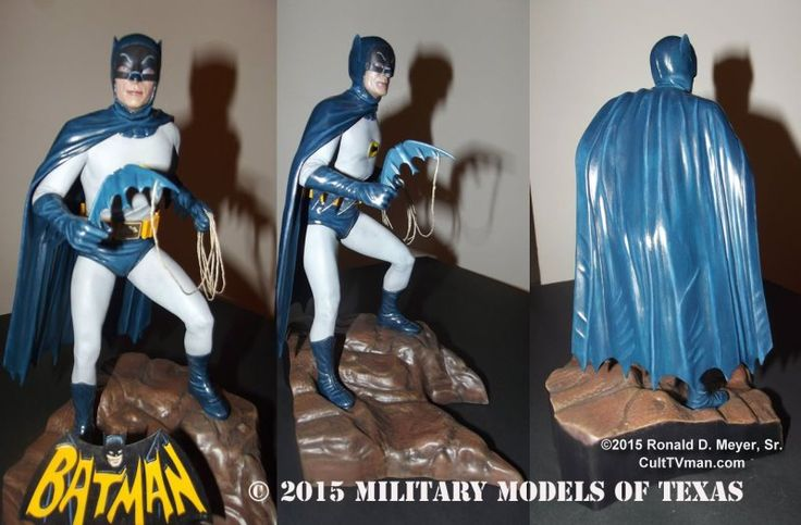 For more photos and info visit Ronald Meyer's Batman - http://culttvman.com/main/ronald-meyers-batman/