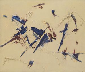 Judit Reigl, Outburst, 1956