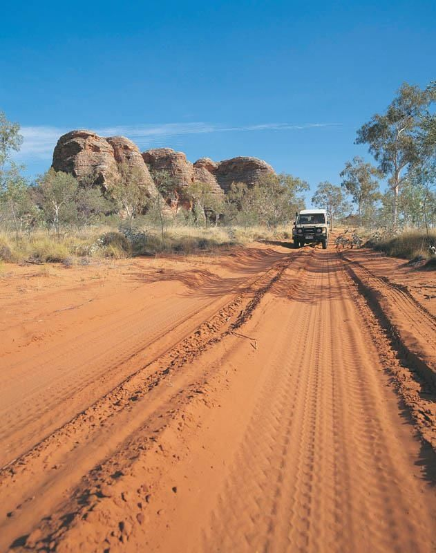 Bungle Bungle Range - Western Australia.....outback road
