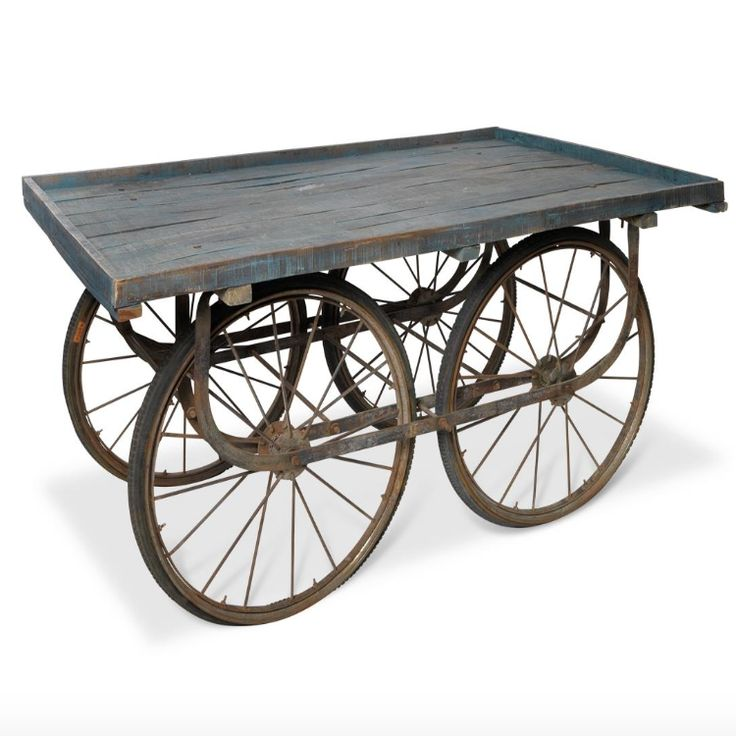 Reclaimed Indian Cart Table – Allissias Attic & Vintage French Style