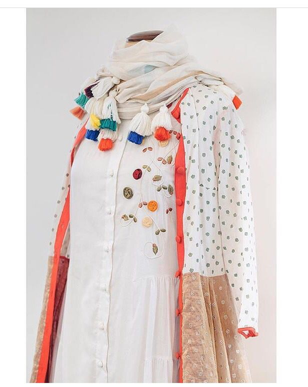 Kaasha Khan # tassel love # hand crafted detail# tunic