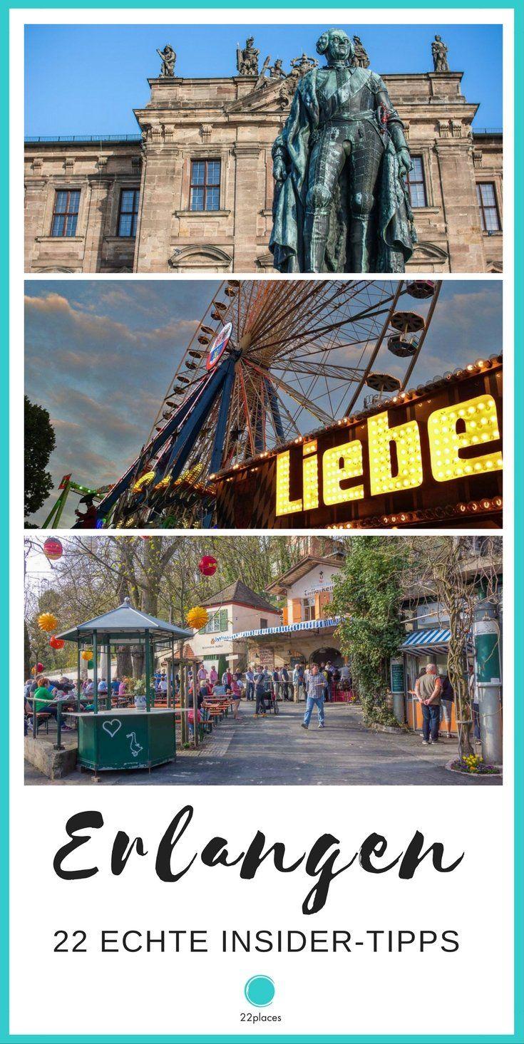 Die besten Tipps für Erlangen. Die beiden Reiseblogger Thomas und Kristina von Pixelschmitt zeigen dir ihre Heimatstadt Erlangen!