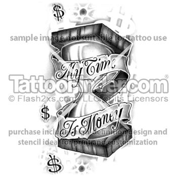 28 best images about tattoos on pinterest fonts spine for Time is money tattoo