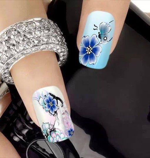 Onde comprar: https://adesivosdeunhasepeliculas.com/produto/adesivo-de-unhas-borboleta-azul-n689/?wpam_id=64