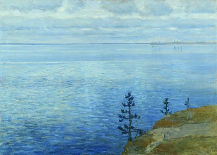 Бялыницкий-Бируля. Час тишины. Озеро Удомля. 1911