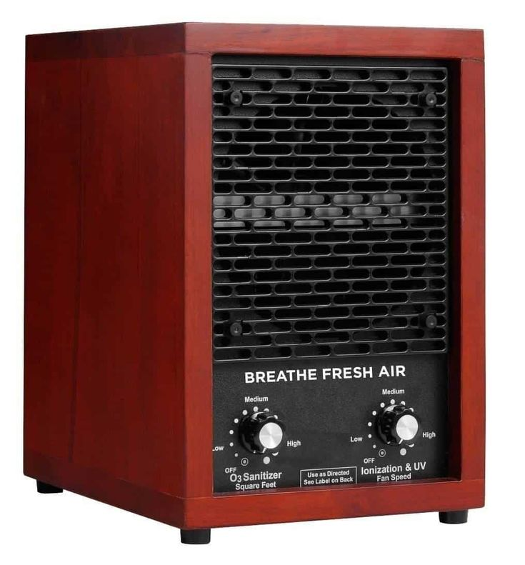 3. Breathe Fresh Air HEPA Filter Ionic Ionizer Air Purifier with UV Sterilizer and 2 Ceramic Ozone Plates