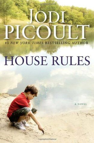 A sometimes confusing look into the mind of a young adult with Asperger's syndrome and the life of the family who lives with him.  It's sentimental and predictable, but interesting due to the research Jodi Picoult did prior to writing.: Worth Reading, Jodie Picoult, Book Worth, Crime Scene, House Rules, Great Book, Reading Lists, Book Jackets,  Dust Wrappers