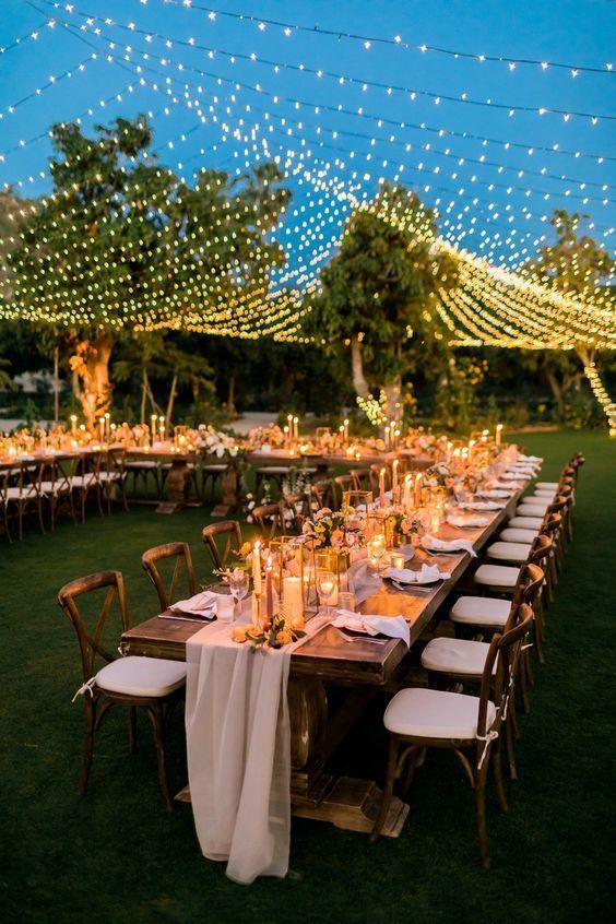 24 Idées inspirantes de décorations pour une soirée d'été magique