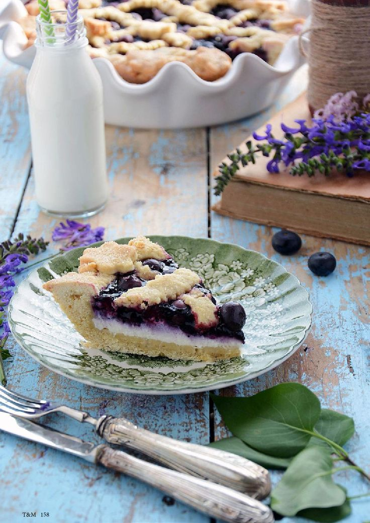 Taste&More Magazine luglio - Pie al farro con mirtilli e crema di robiola