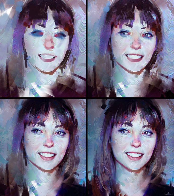 Aaron Griffin - Process for my evenings study :) #portrait...